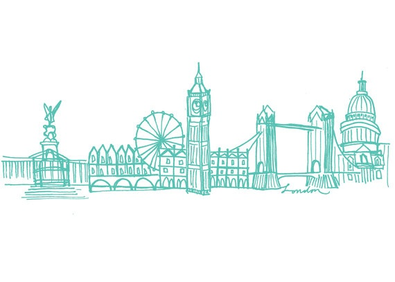 Drawn skyline london About on London Pinterest images