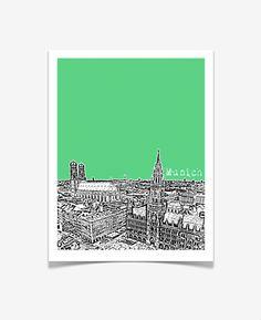 Drawn skyline pop art Pop Traveler City Series California