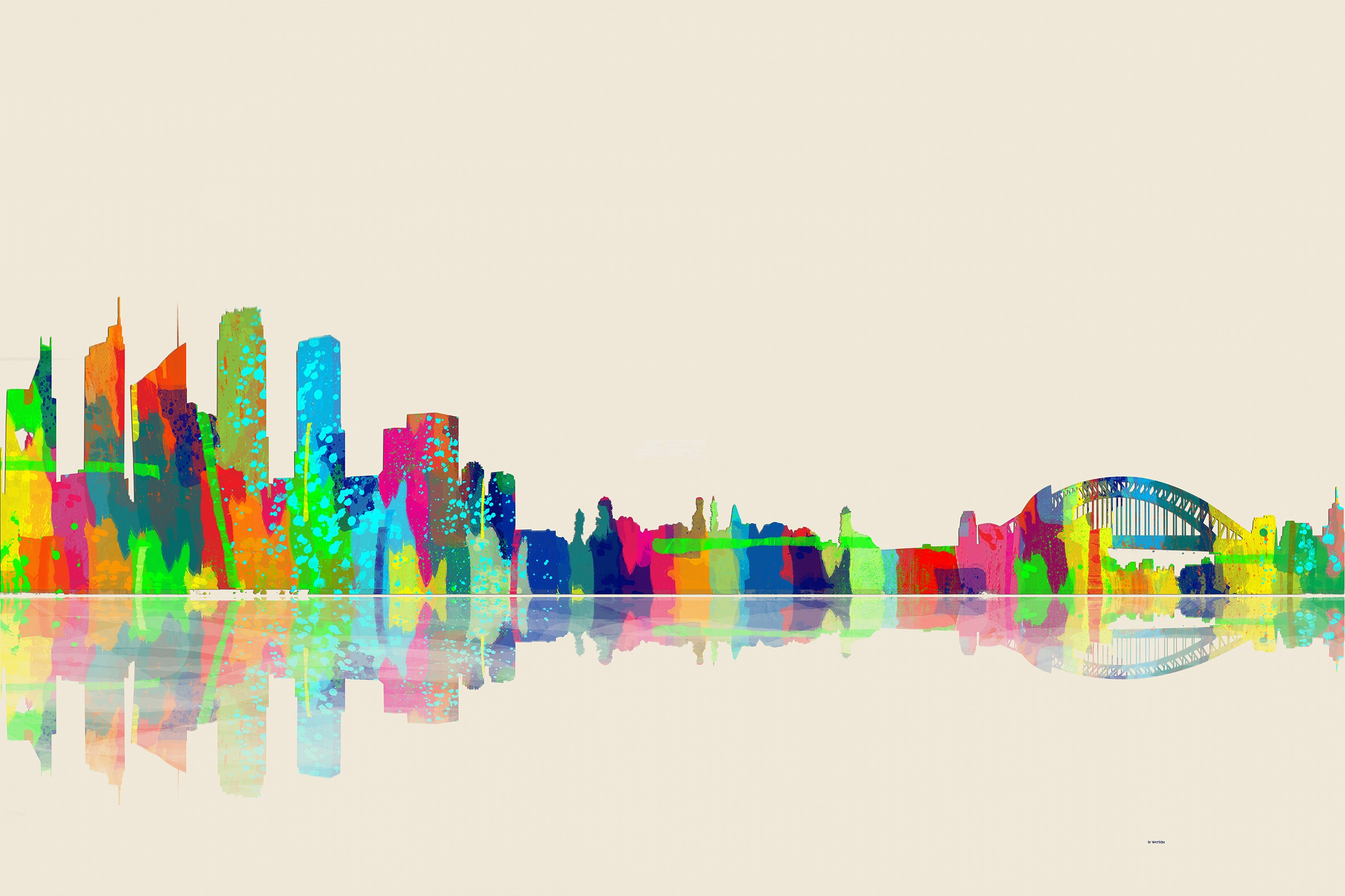 Drawn skyline pop art Free Online on – Gallery