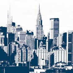 Drawn skyline pop art ILUSTRACIÓN ILLUSTRATION art rustic York
