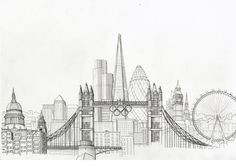 Drawn skyline simple Adults : Design this skyline