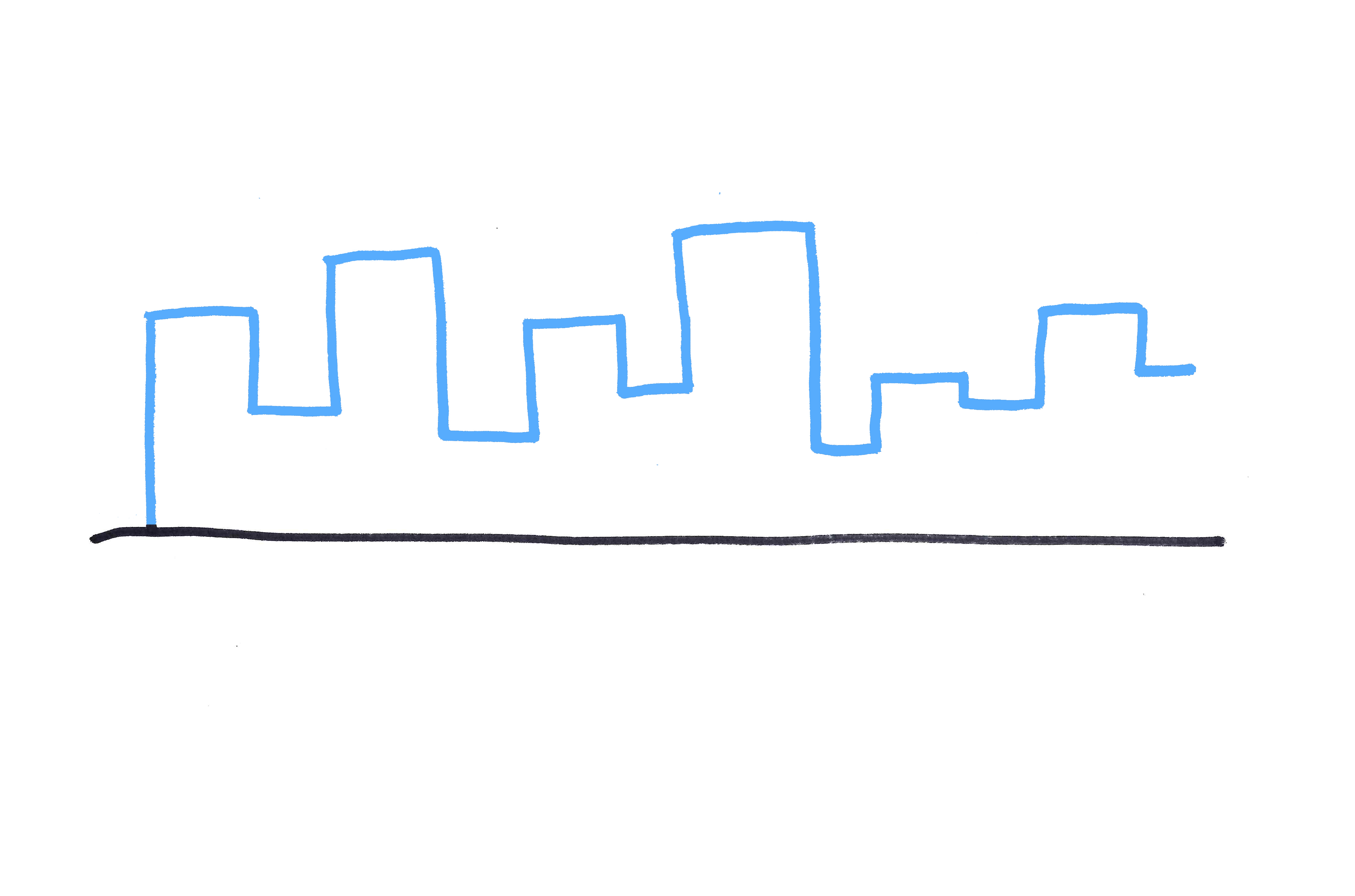 Drawn skyline simple Ways photo 3 Draw How