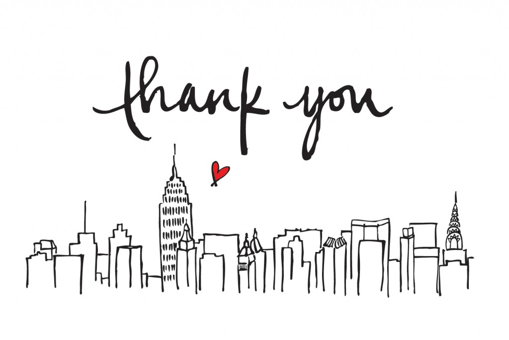 Drawn skyline thank you You from Blog papertastebuds »