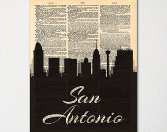 Drawn skyline thank you Hand / Etsy Print Dictionary