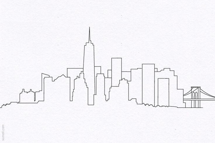 Drawn skyline thank you Drawing York Crafts  Page