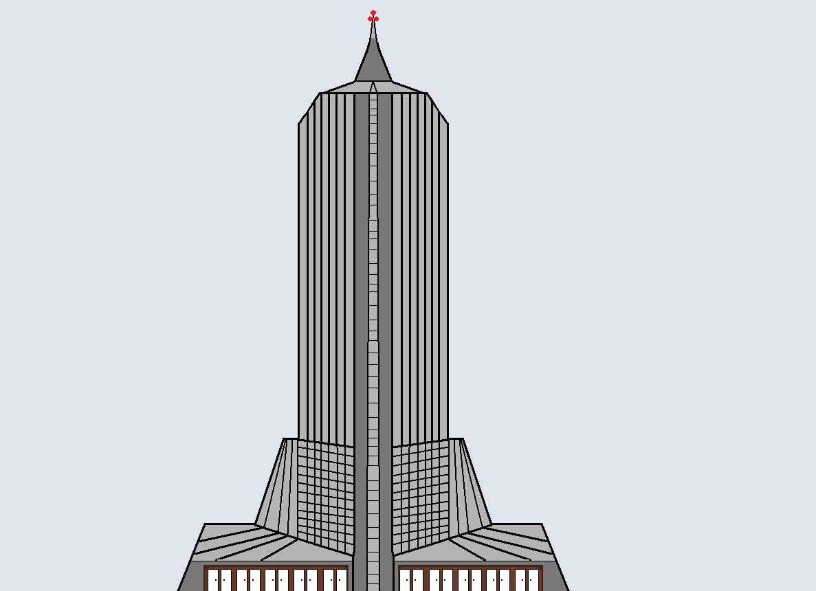Drawn skyscraper Art designed the Skyscraper have