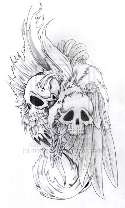 Drawn skeleton angel Demon ~motoslave deviantART 103 best