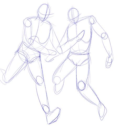 Drawn skeleton anime Tips Beginner guidelines for drawings