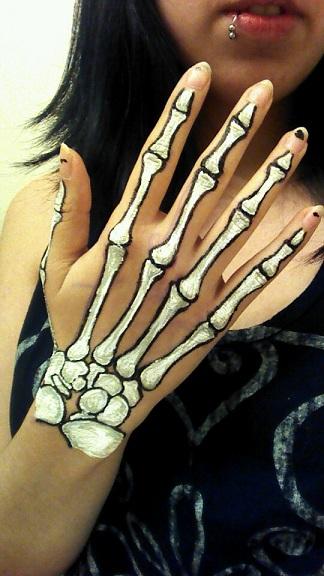 Drawn skeleton little Search hands on skeleton Google
