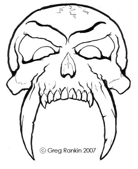 Drawn sleleton awesome Art Free Gallery  Skull
