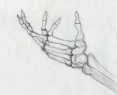 Drawn sleleton awesome Google Search view Search side