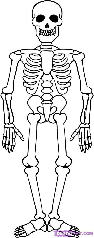 Drawn skeleton cartoon How a Step Sweet skeletons