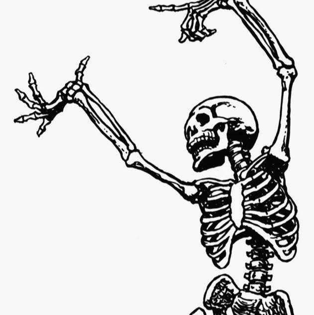 Drawn skeleton dancing Google Dancing goyal Drawing Skeleton