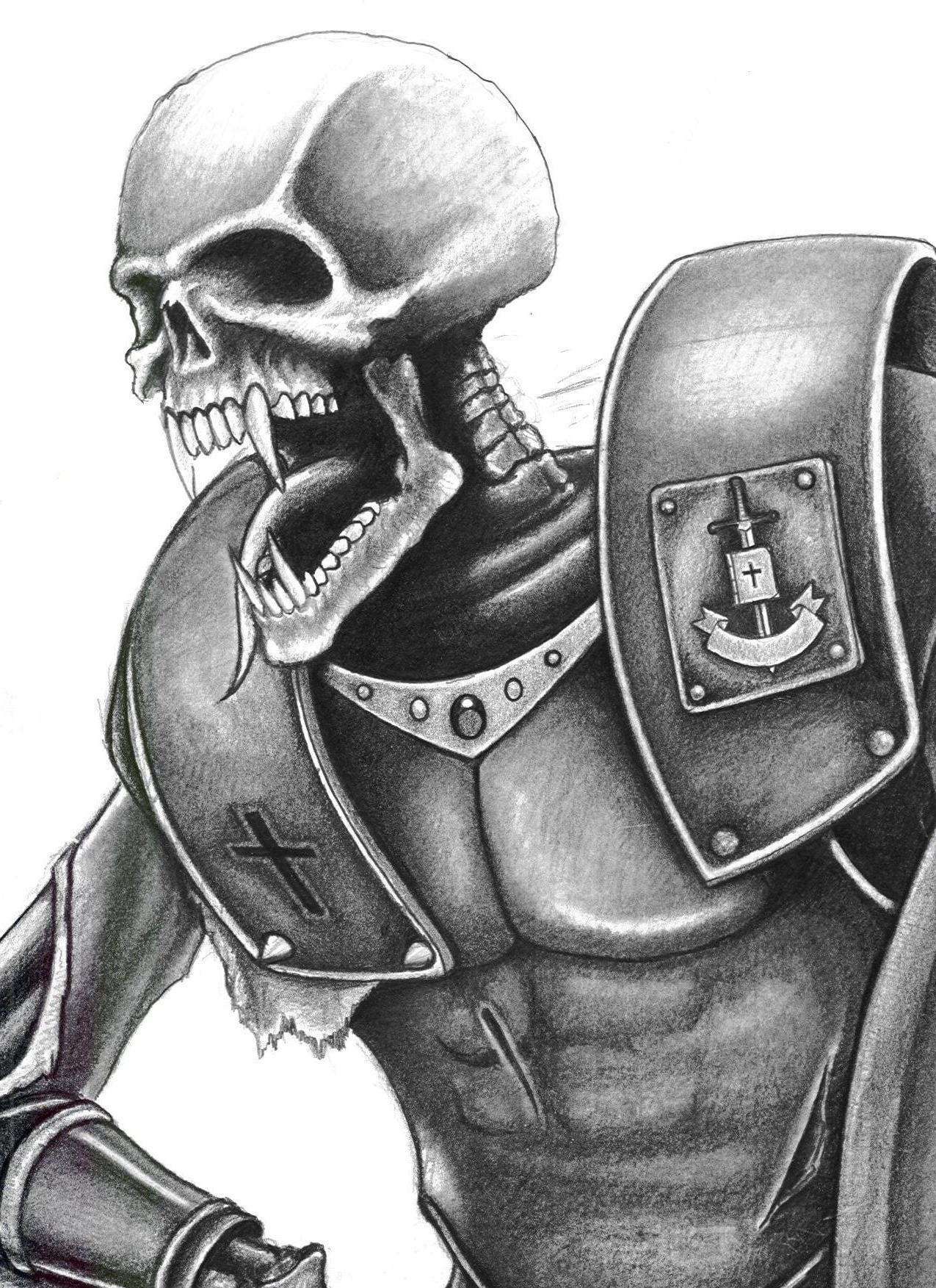 Drawn skeleton skeleton warrior Naffermike naffermike skeleton warrior naffermike