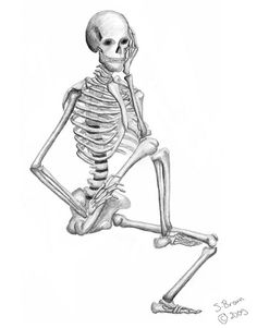 Drawn sleleton figure drawing Http://browneyedesigns figure com/portfolio Pinterest Skeletons