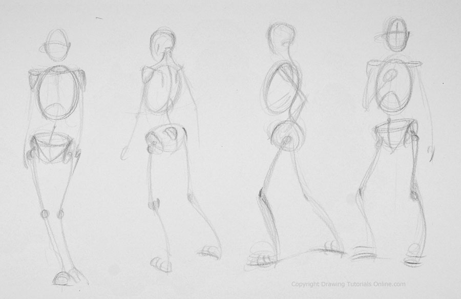 Drawn sleleton figure drawing Part Practice these skeleton drawing