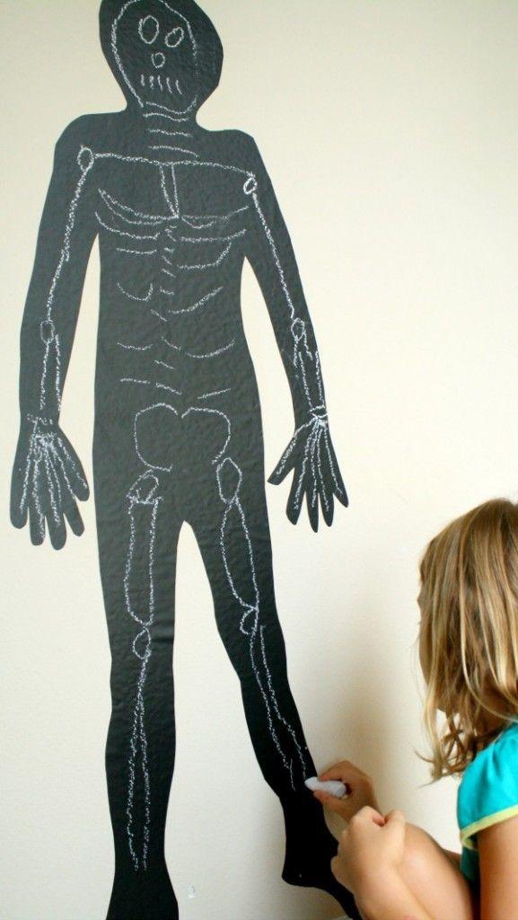 Drawn sleleton fun 25+ craft ideas Pinterest on