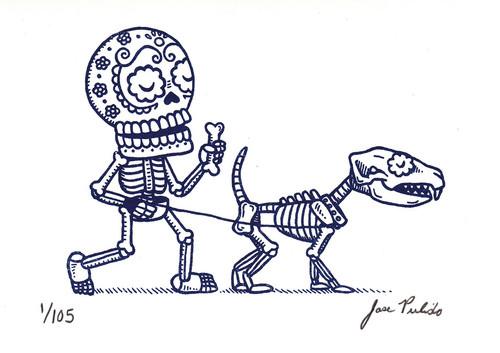 Drawn sleleton funnybones Bones org For 38 Dogs
