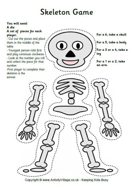 Drawn sleleton funnybones Dice Game bästa 17 bilder