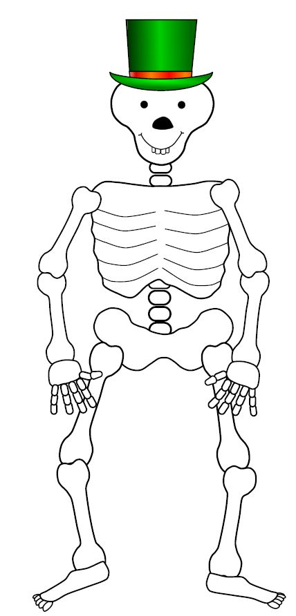 Drawn sleleton funnybones A go drawing at your