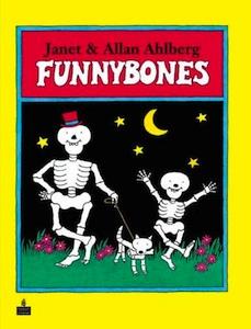 Drawn sleleton funnybones A Book A & Craft: