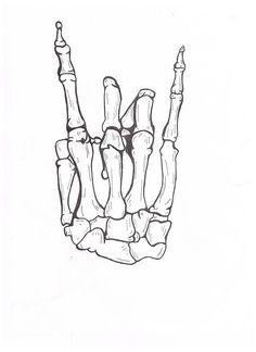 Drawn skeleton hand drawn Tattoo skeleton Skeleton Search drawings