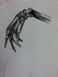 Drawn sleleton hand drawn Arm hand musesavedmylife Pinterest For