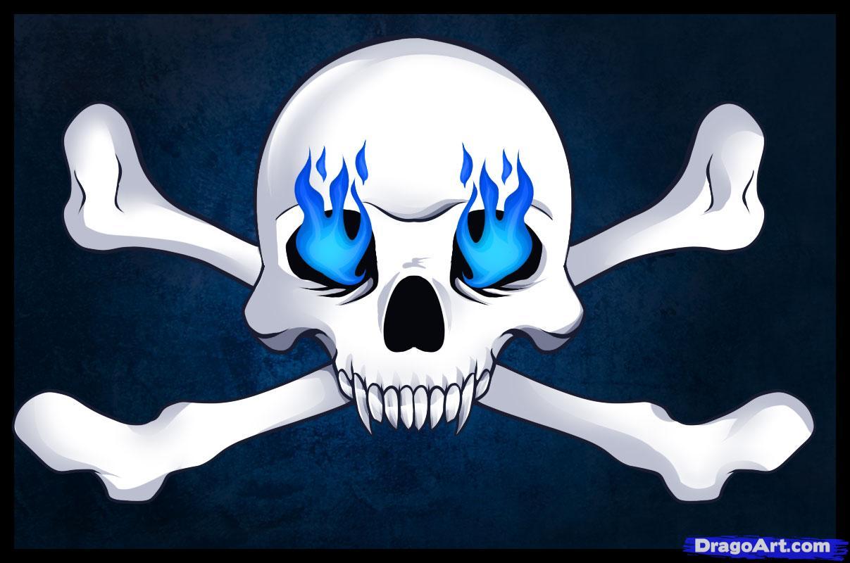 Drawn sleleton head bone Draw draw to Skulls by