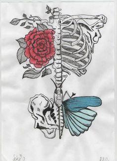 Drawn sleleton heart tumblr Search Art com/wp Pinterest ·