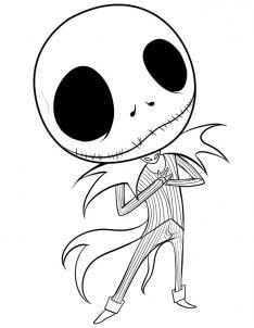 Drawn sleleton jack Step Draw Draw skellington Skellington