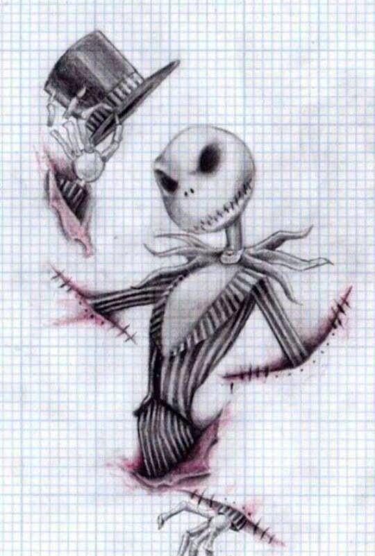 Drawn sleleton jack Need My :) the images