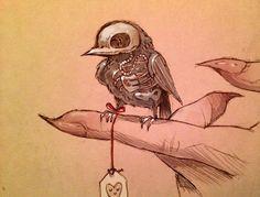 Drawn sleleton little Skeleton Pinterest tumblr Google в