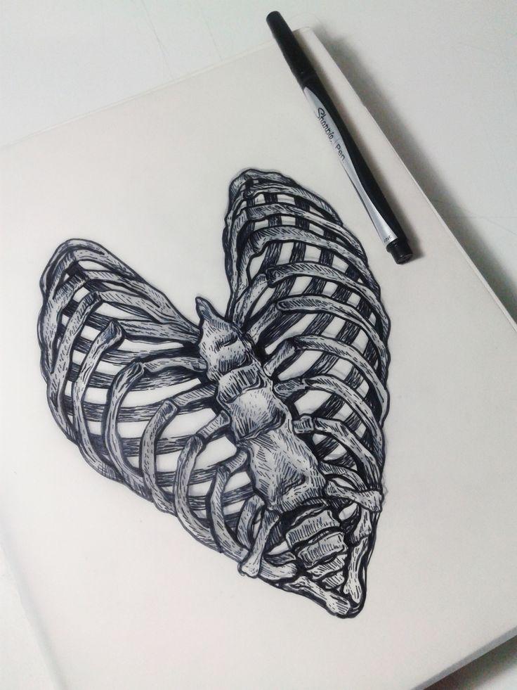Drawn sleleton love Skeleton 25+ drawings For on