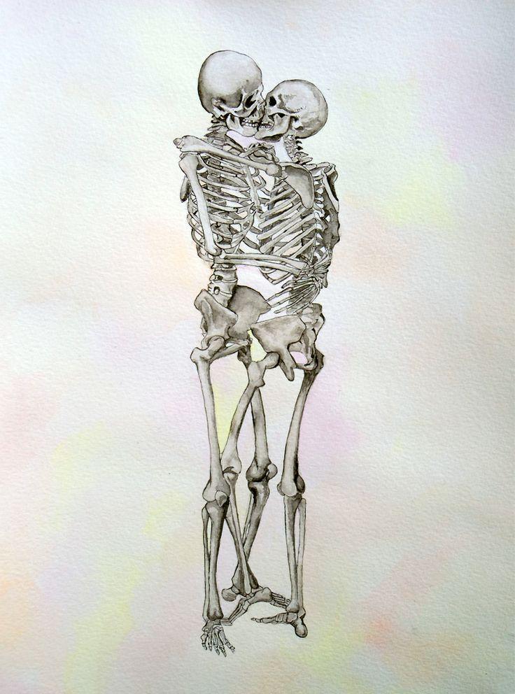 Drawn sleleton love Skeleton human ideas love anatomy