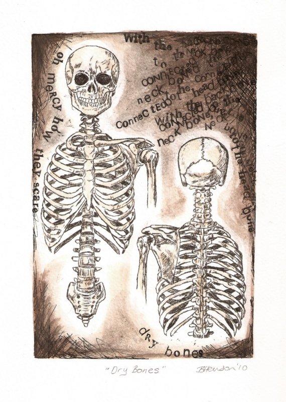Drawn sleleton neck Is Dry neck drawing Anatomy