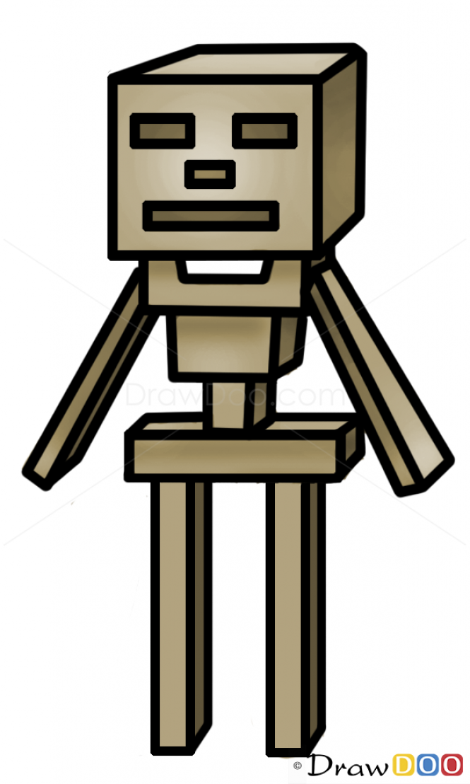 Drawn ninja minecraft How Characters to Drawing
