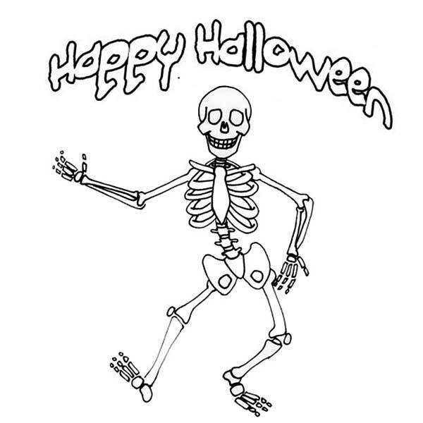 Drawn sleleton printable halloween Skeleton Festival Halloween Drawing