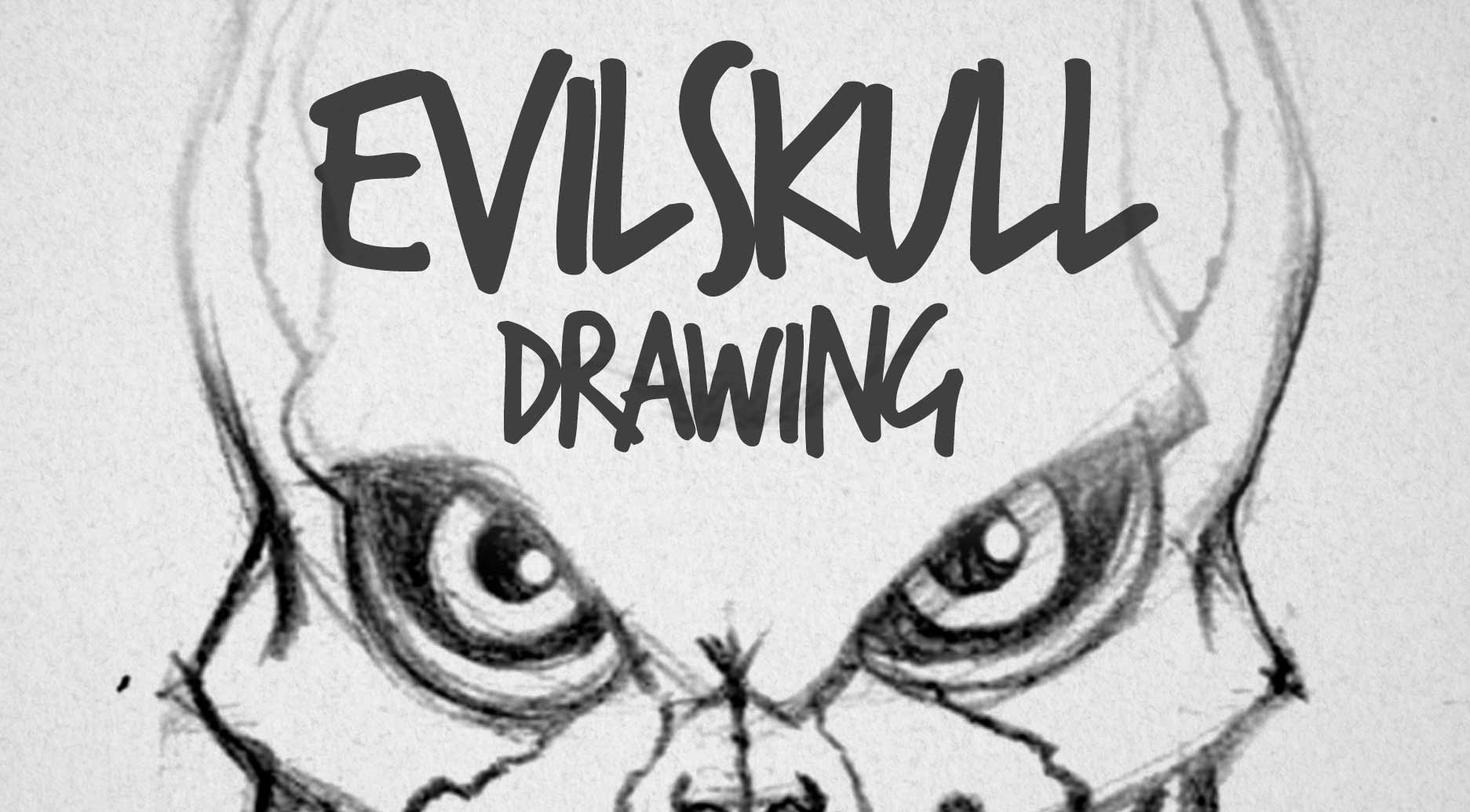 Drawn sleleton realistic Drawing Evil skull drawing Factory