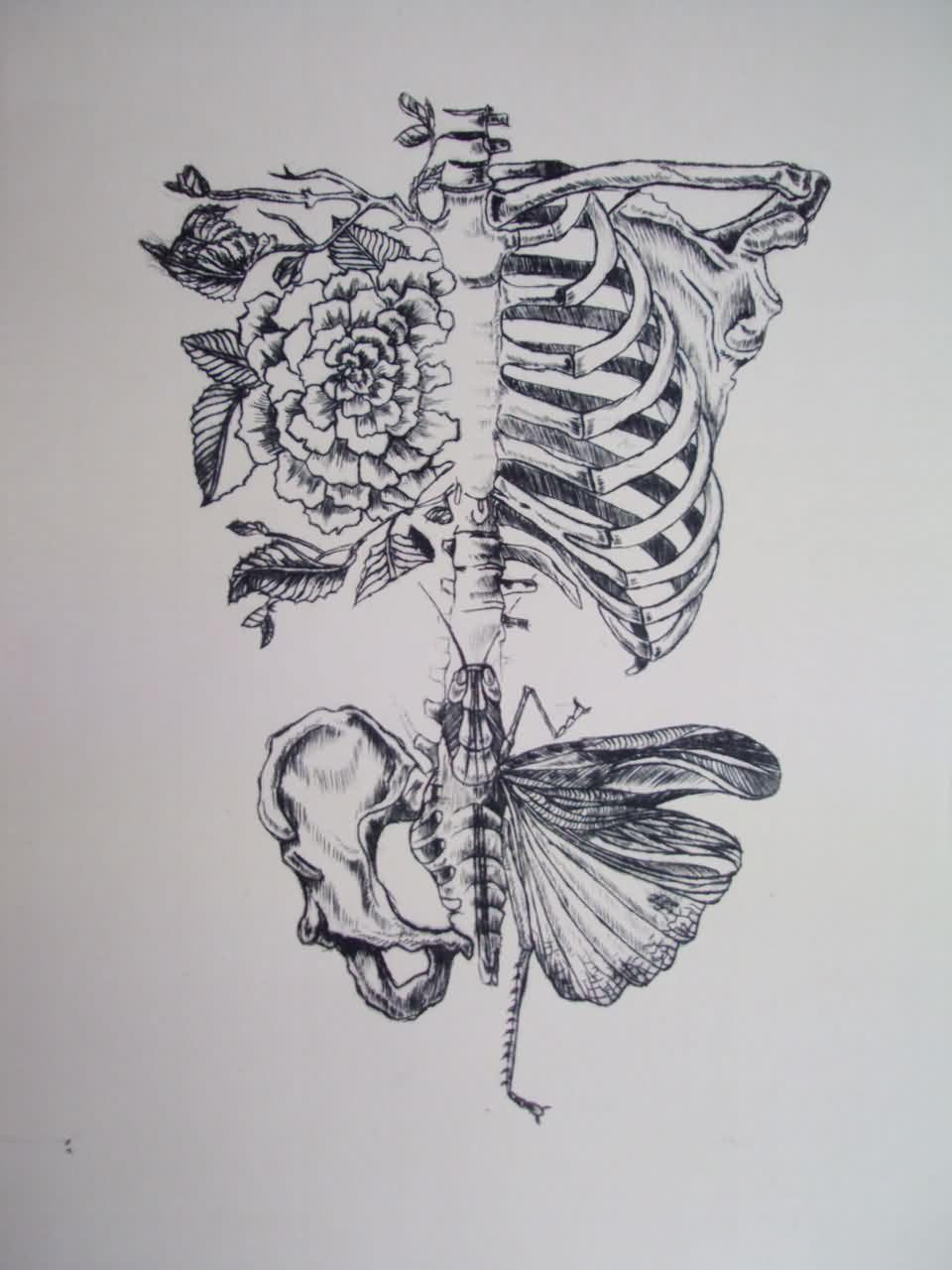Drawn sleleton sad Sunflower sunflower  ideas Pesquisa