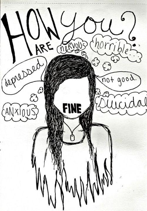 Drawn sad sad woman This 25+ drawings Emotional me