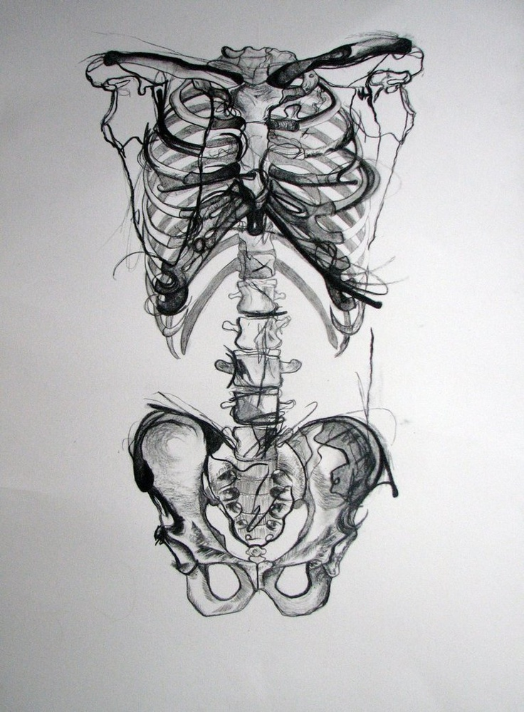Drawn sleleton sad 94 WIP Pinterest charcoal best