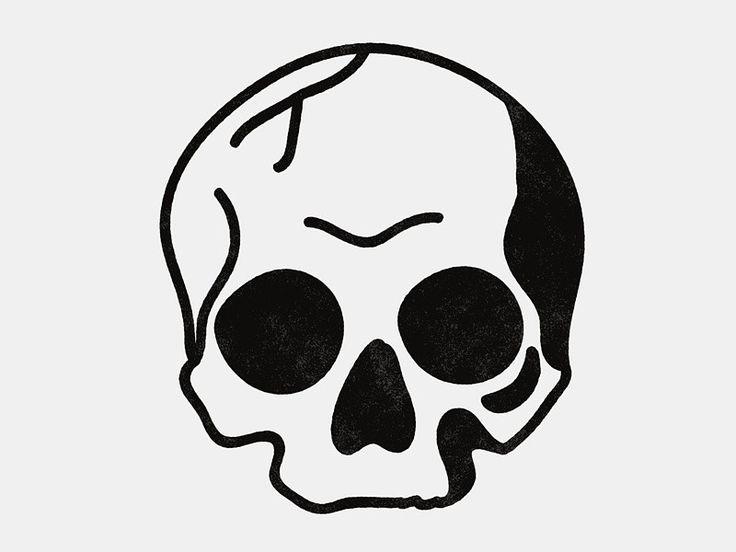 Drawn sleleton simple Skull Pinterest Best 20+ on