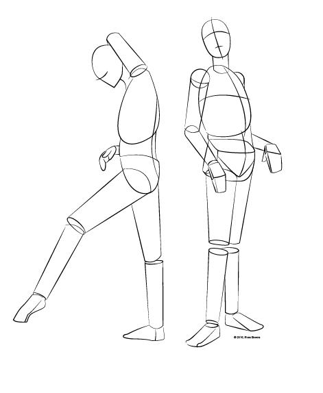 Drawn sleleton simple Drawn Basics: the Learn not