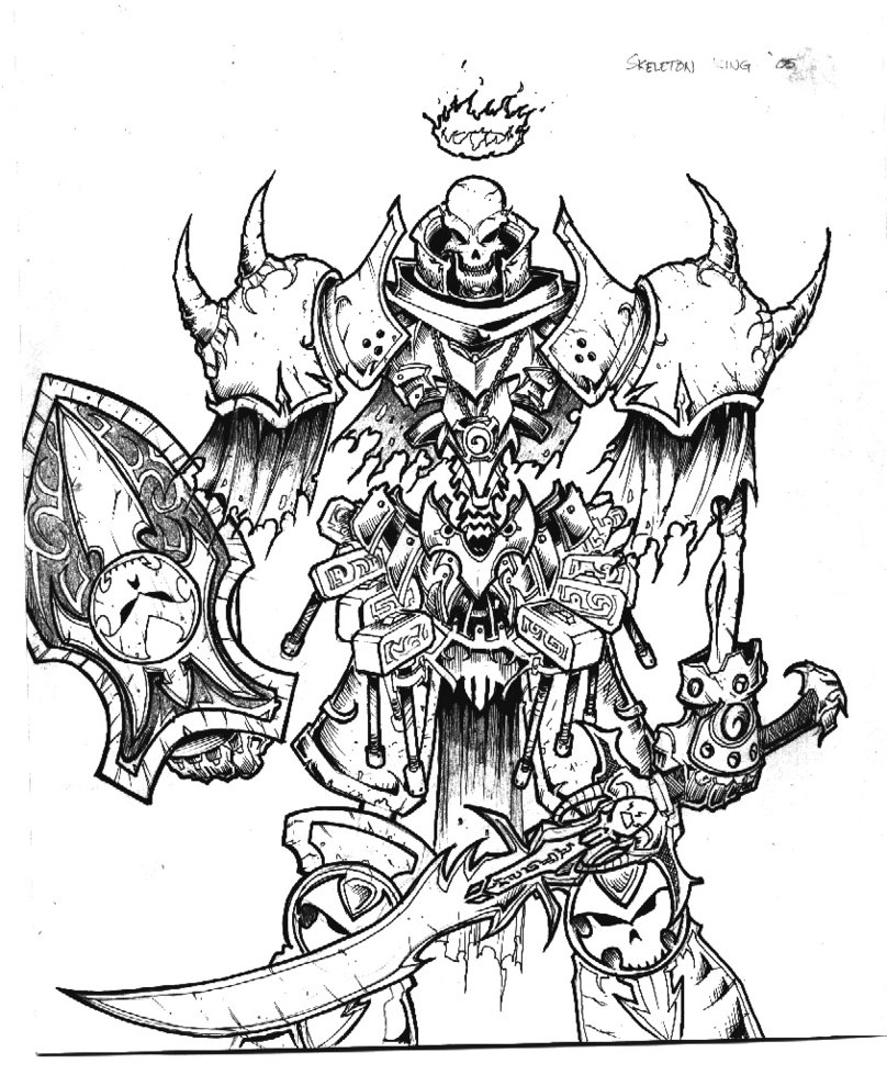 Drawn sleleton skeleton king Inuji Skeleton by Skeleton DeviantArt