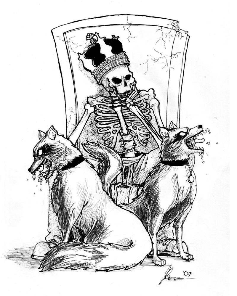 Drawn sleleton skeleton king JBowen Skeleton by Skeleton DeviantArt