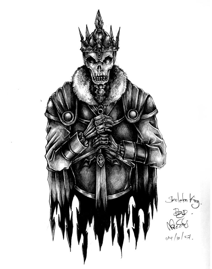 Drawn sleleton skeleton king Ideas Pinterest King  Best