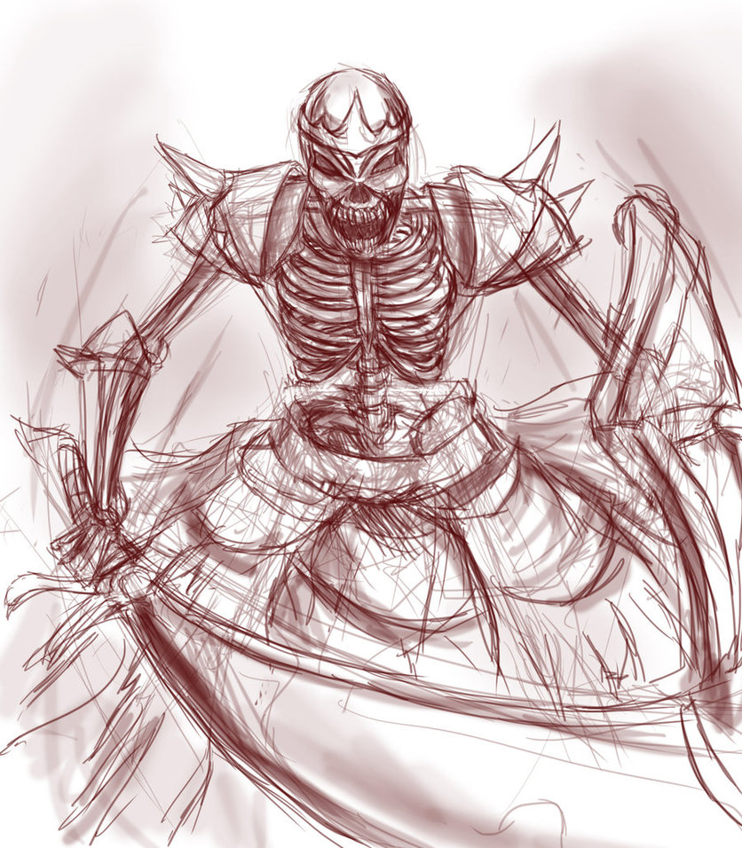Drawn sleleton skeleton king ThingzJuliana Skeleton by Skeleton DeviantArt