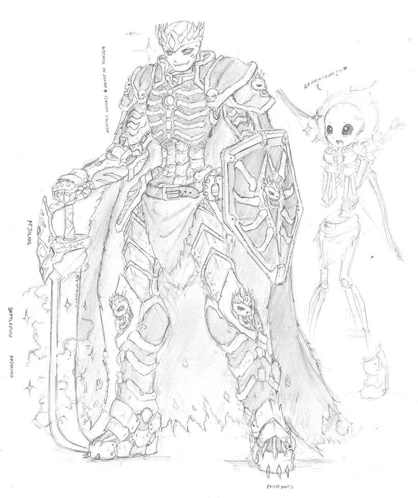 Drawn sleleton skeleton king Frostfire frostfire King DeviantArt the