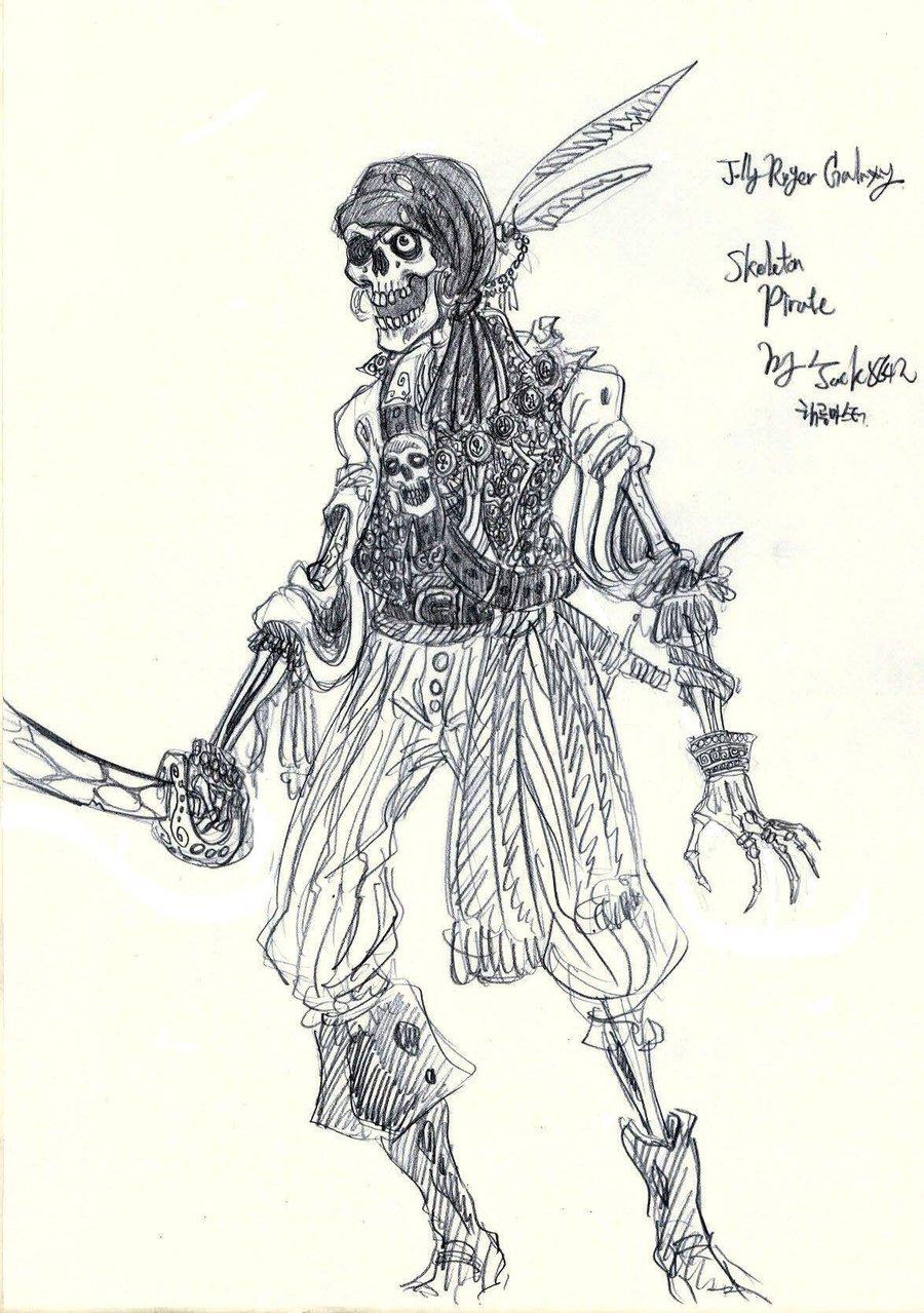 Drawn sleleton skeleton pirate Drawing Pirate drawing Skeleton pirate