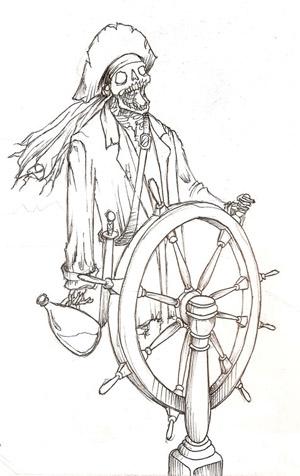 Drawn sleleton skeleton pirate Drawings Pirate drawings Skeleton pirate